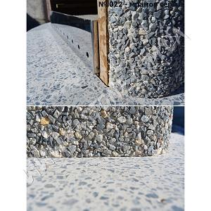 Камин барбекю Сицилия, мрамор серый 10