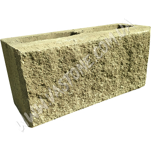 Блок колотый оливковый 2