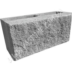 Блок колотый серый