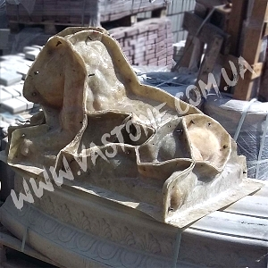 Форма фигура животного Лев №2 7