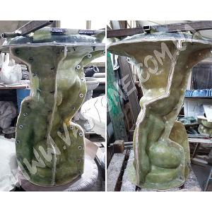 Форма Скульптуры Мальчик с чашей 1