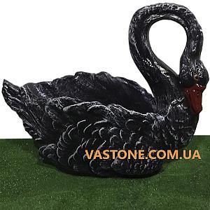 Лебедь художественная черный