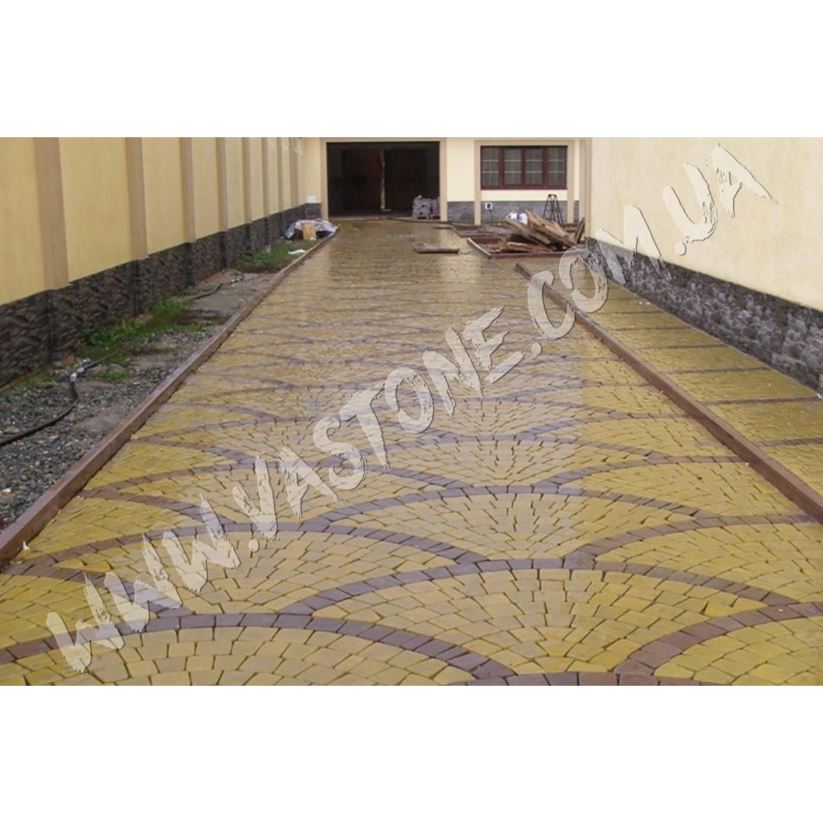 Тротуарная плитка Ретро 2