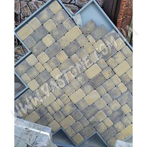 Тротуарная плитка Старый город колор-микс 1