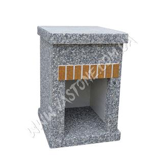 Стол Манчестер №2, мрамор серый 1