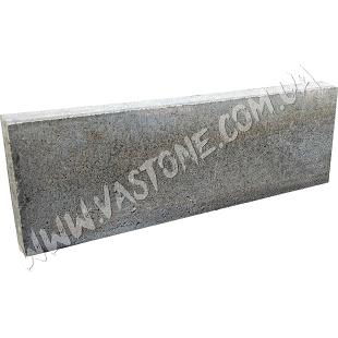 Поребрик 50х20х5 см; серый