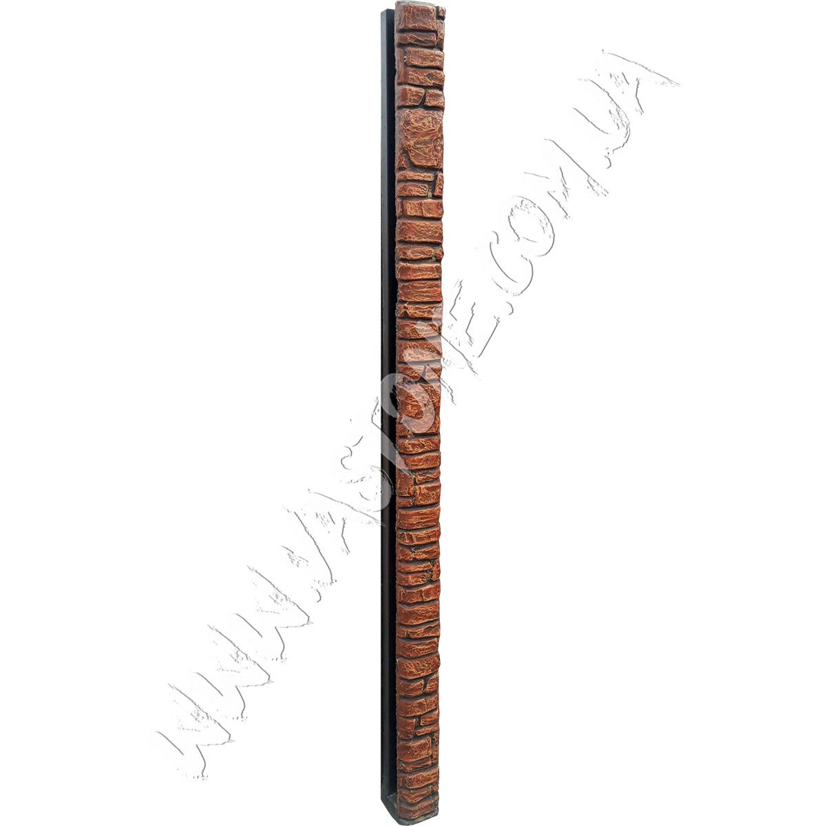 Еврозаборный столб Карпатский камень 1